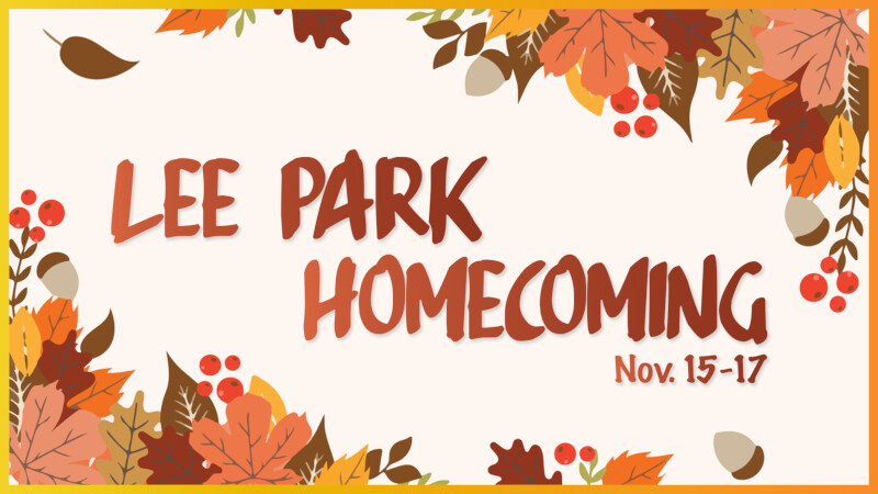 Lee Park Homecoming