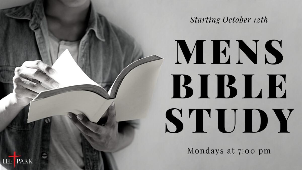 Men's Bible Study